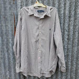 XXL TALL Ralph Lauren Classic Button Down Shirt
